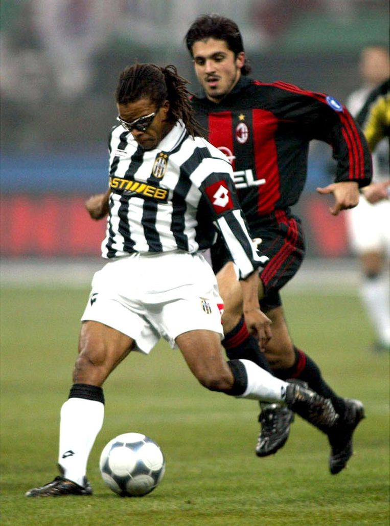 ...in het tenue van Juventus in 2001... Beeld epa