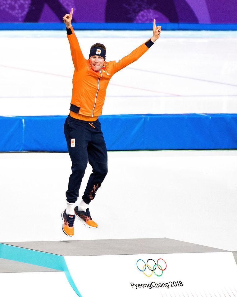 Kramer: 'Het gaat me om goud winnen. Dat telt.' Beeld Klaas Jan van der Weij/ de Volkskrant