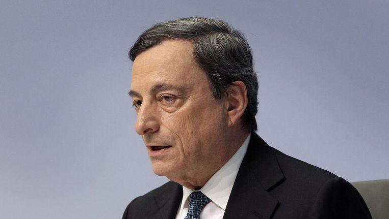 ECB-directeur Mario Draghi. Beeld anp