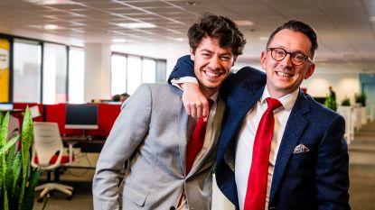 """Zoon Pieter-Jan en compagnon de route Lieven Bonamie na de dood van Philippe Cracco: """"Keihard geweend, en dan even hard verder werken"""""""