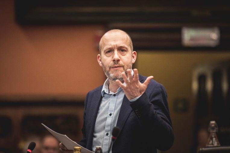 Tom De Meester, PVDA-woordvoerder en Vlaams Parlementslid.