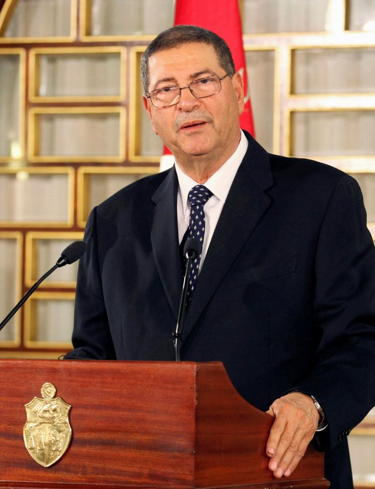 Oud-premier Habib Essid Beeld reuters