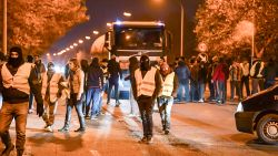 Protest 'gele hesjes' wordt ook in België feller: al 39 mensen opgepakt