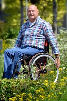 Waardenburger superblij in een nieuwe rolstoel dankzij weldoener