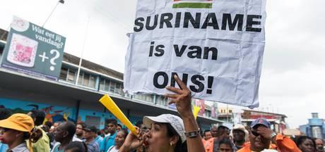 Oppositie Suriname betoogt weer tegen Bouterse