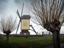 De ster van deze molen in Wanroij is opnieuw geschilderd, maar het mysterie blijft