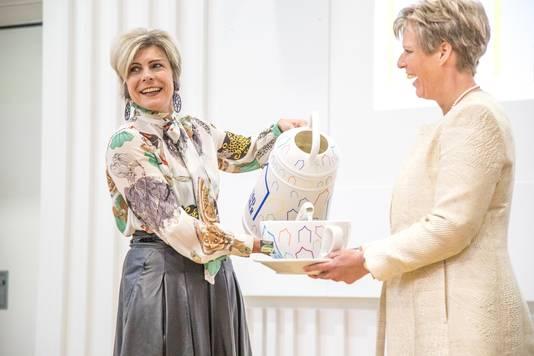 Opening Stadkamer door Prinses Laurentien.
