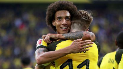 Dortmund en de ingevallen Witsel nemen de maat van Frankfurt