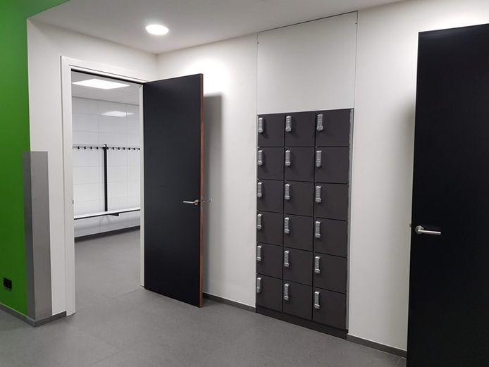 De nieuwe kleedkamers van ATC'65