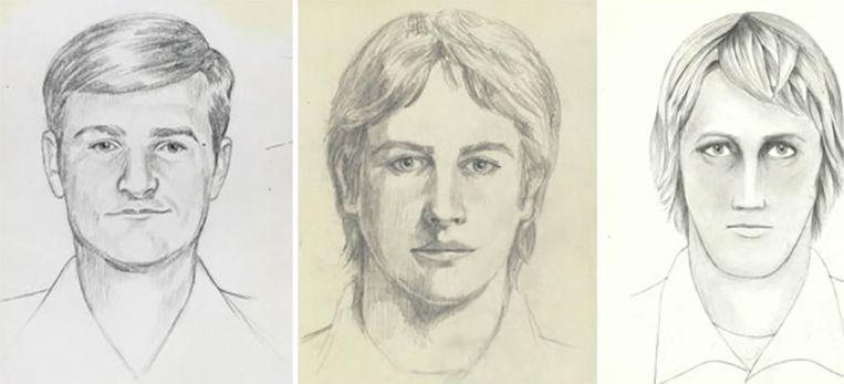 Robotfoto's van de Golden State Killer, samengesteld met de hulp van zijn slachtoffers