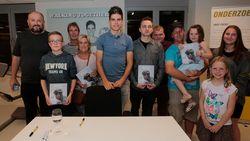 """HLN-lezers op visite bij Wout van Aert: """"Ik ben verliefd op hem"""""""