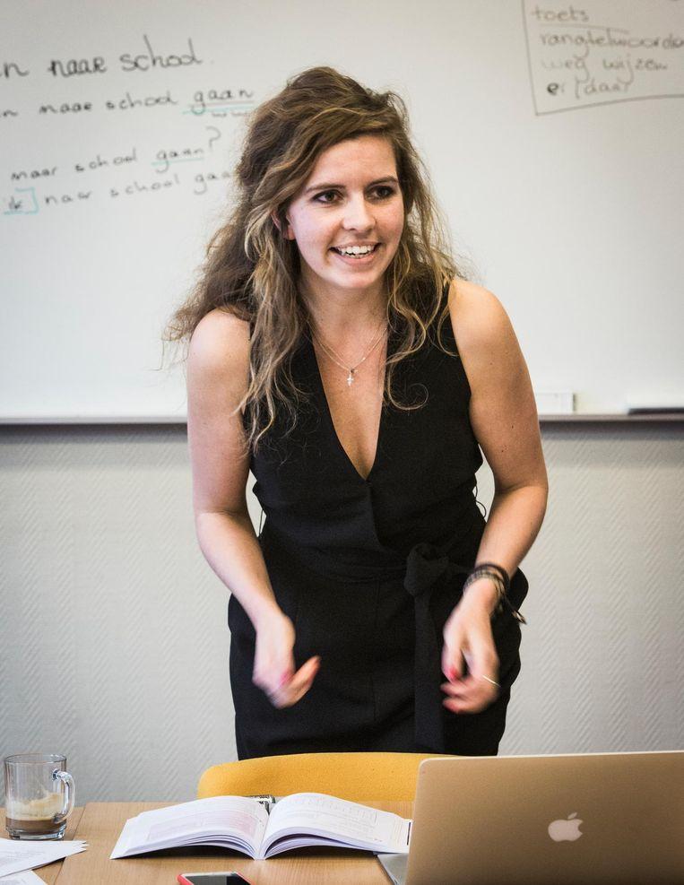 Noémie Winkel: 'We zijn allemaal wereldburgers.' Beeld Dingena Mol