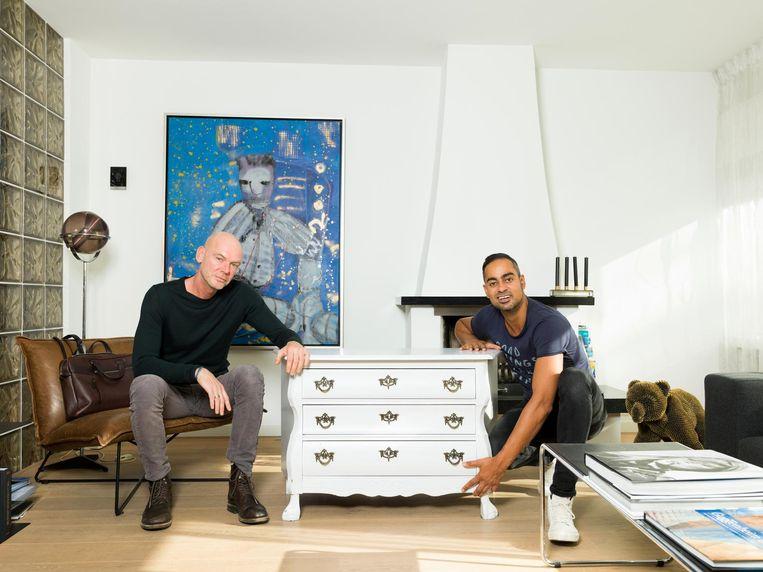 Eric Stuifbergen (l): 'Wegdoen is niet bespreekbaar' Beeld Ivo van der Bent