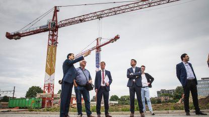 Nieuw Gents stadsdeel op site bouwbedrijf Maes: 237 woningen en 7 bedrijfsgebouwen op boogscheut van de stad
