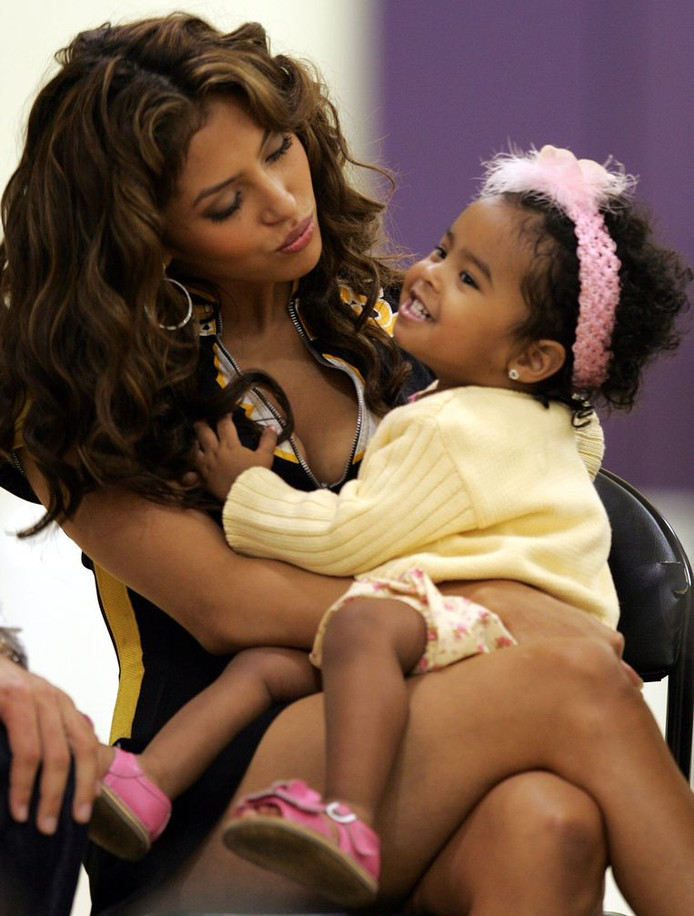 Vanessa et sa fille Natalia Diamante.