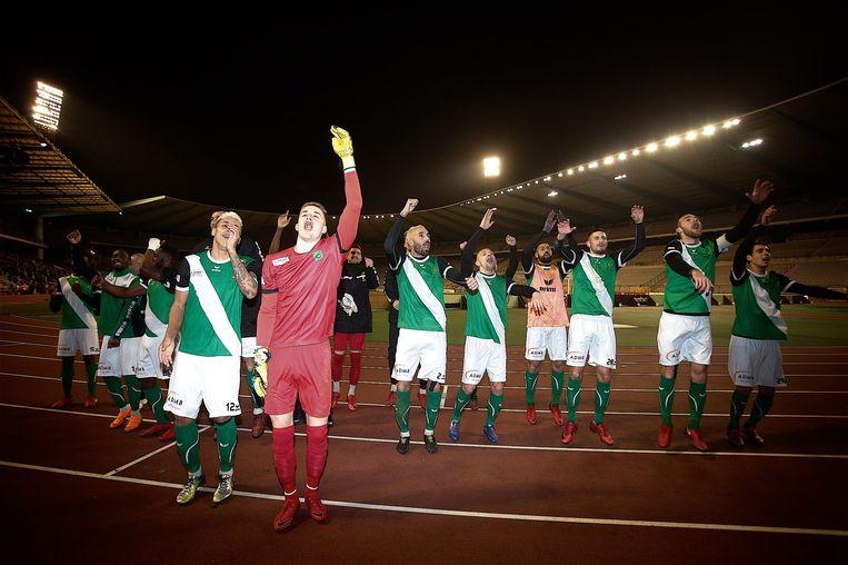 Cercle Brugge vierde zaterdag de tweedeperiodetitel.