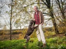 Dick en zijn hond Sita zijn onafscheidelijk: 'Als ik opsta, loopt ze al achter me aan'