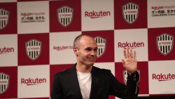 FT buitenland: Vissel Kobe presenteert Andres Iniesta