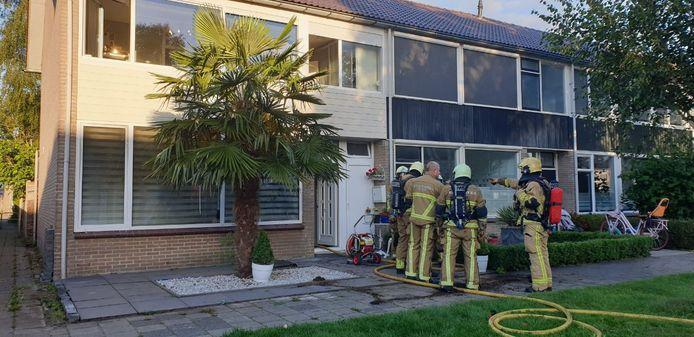 Woningbrand in Hengelo