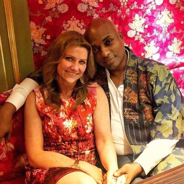 Märtha Louise met haar lief, Sjamaan Durek