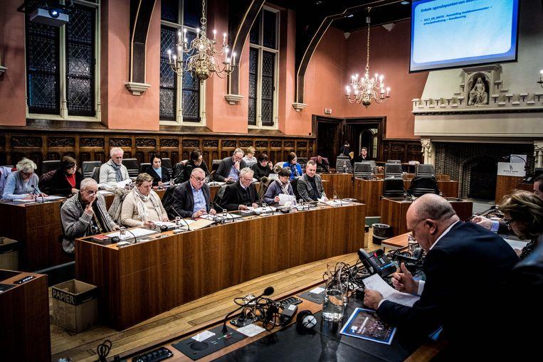 gent, gemeenteraad, bezoekers, gasten, toelichting van gemeenteraad