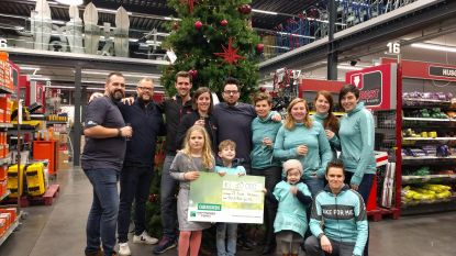 Mooie cheque voor Run and Ride for Mie