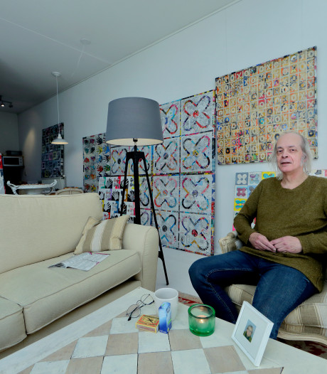 Kunstenaar Nico werkt nu met andere materialen: 'Dit huis beïnvloedt mijn kunst'