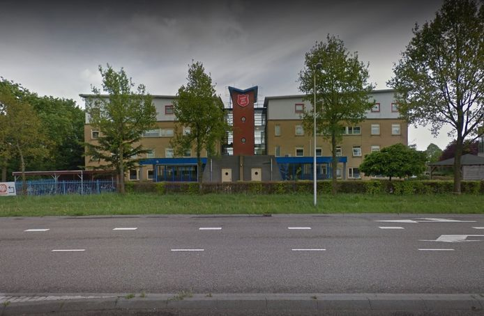 De opvang van het Leger des Heils aan de Burgemeester van Walsumlaan in Zwolle