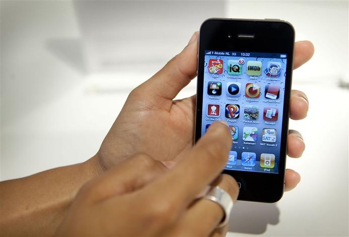 iPhone 4 (foto ter illustratie).