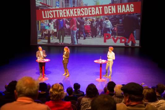 Het PvdA-debat werd bijgewoond door ongeveer 125 leden.