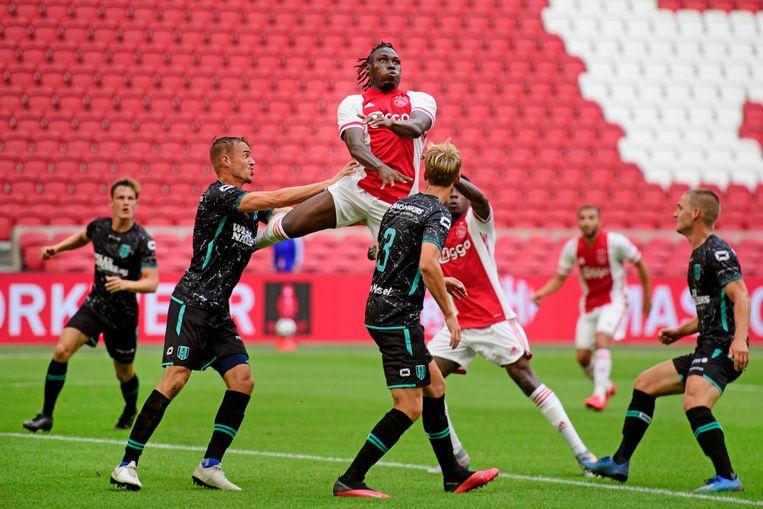 Lassina Traoré tekende voor de 1-0. Beeld Hollandse Hoogte /  ANP