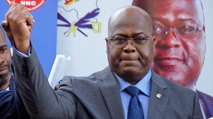 Tshisekedi wordt nieuwe president van Congo