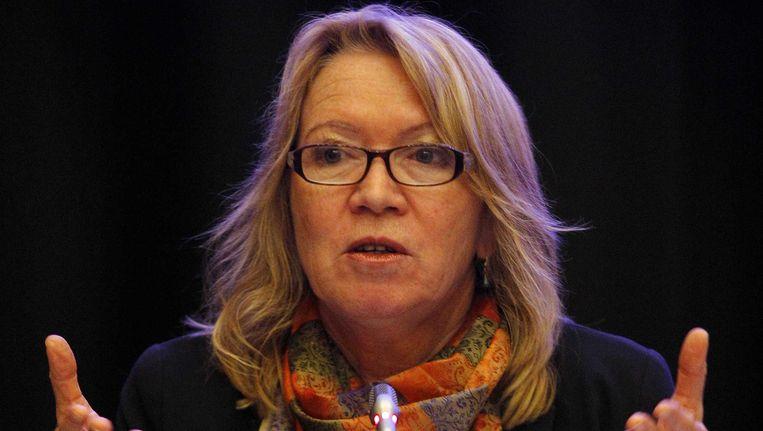 Oud-minister van Justitie Winnie Sorgdrager. Beeld null