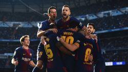 0-3! De voetballogica op haar kop: Barcelona schittert na rust in Clásico en lijkt titel nu al binnen te hebben