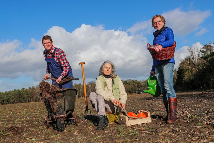 Landgoed Gildebosch Waalre enkele omwonende zijn het niet met de toekomstplannen eens