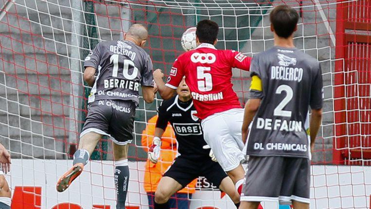 Berrier kopte al snel de enige goal tegen de netten.