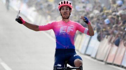 """Bettiol na winst in de Ronde: """"Ik deed mijn ogen dicht en zette gewoon vol aan"""""""