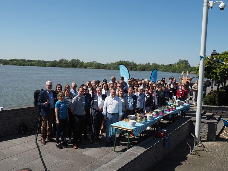 De partners van Hoogtij stelden hun programma in mei voor op de Kaai in Sint-Amands.