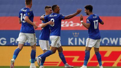 Leicester en Manchester United winnen allebei: spanning blijft in race voor Champions League-ticket