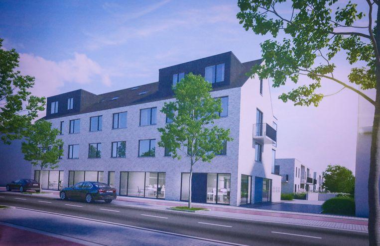 Brugge nieuw bouwproject residentie Tina Gistelse Steenweg