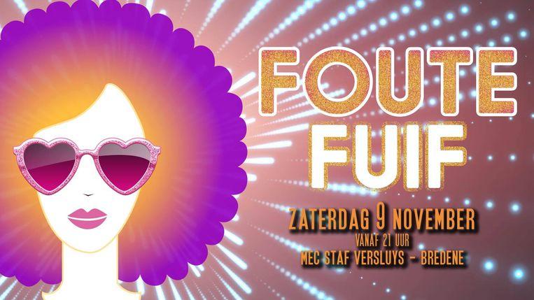 De 'Foute Fuif voor het Goede Doel' is aan haar dertiende editie toe.