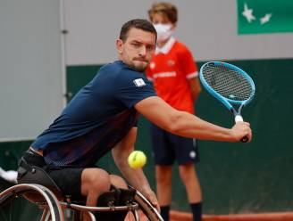 Rolstoeltennisser Joachim Gérard stoot door naar finale op Roland Garros