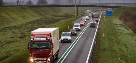 Aanpak N50, N35 en A1 vertraagd door stikstofregels