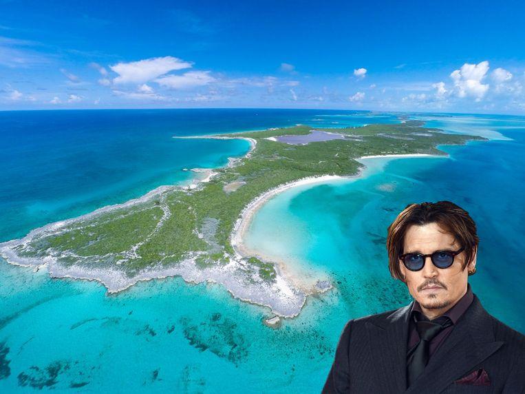 Johnny Depp's Little Hall Pond Cay