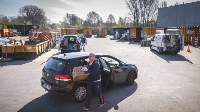 Recyclagepark van Drongen morgen alweer open nadat personeelslid besmet geraakte