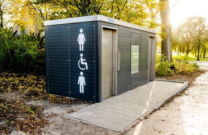 Een nieuwe toiletunit zoals die op de foto kost vele tienduizenden euro's.