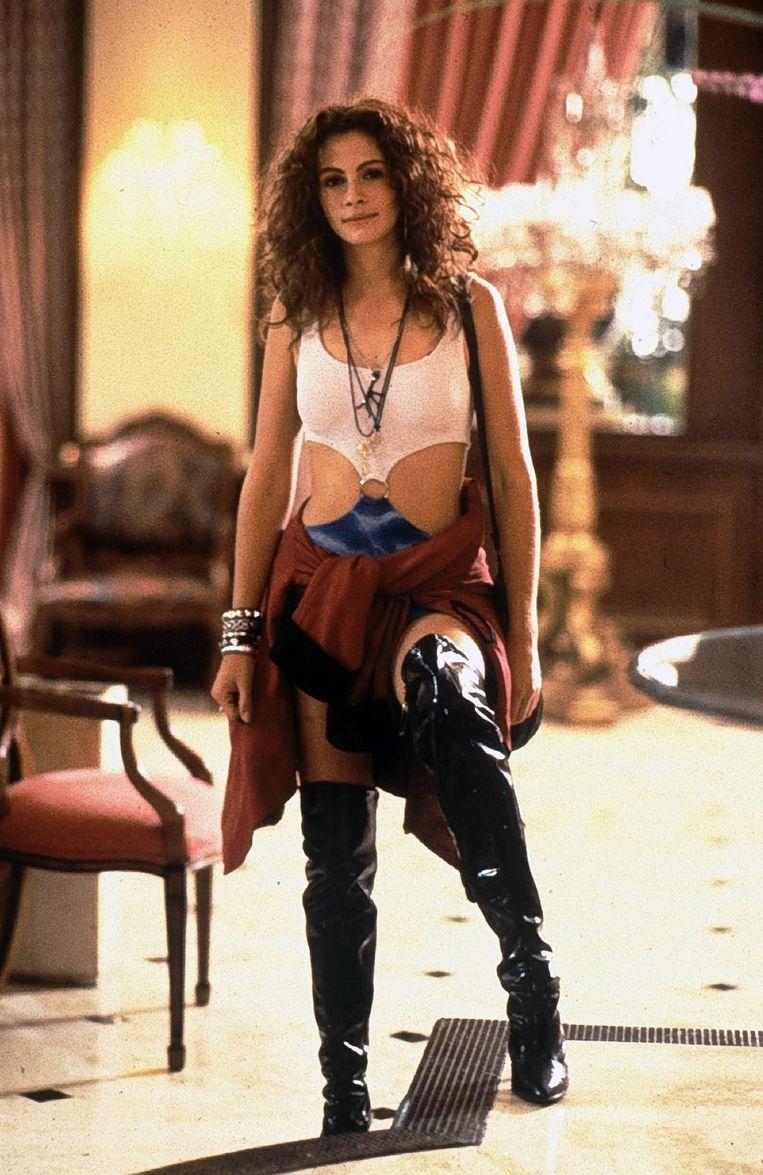 Actrice Julia Roberts in de film Pretty Woman Beeld bruno
