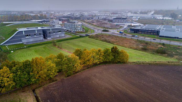 Bedrijventerrein Vorst B in Boxtel (de groene zone) is in beeld voor een Biomassaplein. Het is de bedoeling nog dit jaar hiermee te starten.