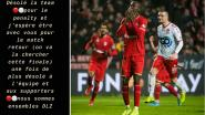 """'t Is weer prijs met Didier Lamkel Zé nadat hij penalty opeist, die mist en nog tijdens match naar huis trekt: """"Sorry"""""""