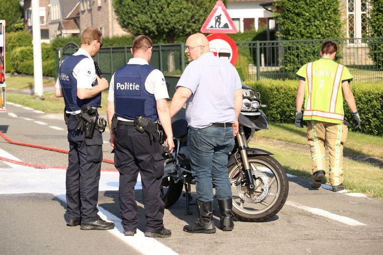 Ook in het verkeer heeft de politie meer dan werk genoeg.